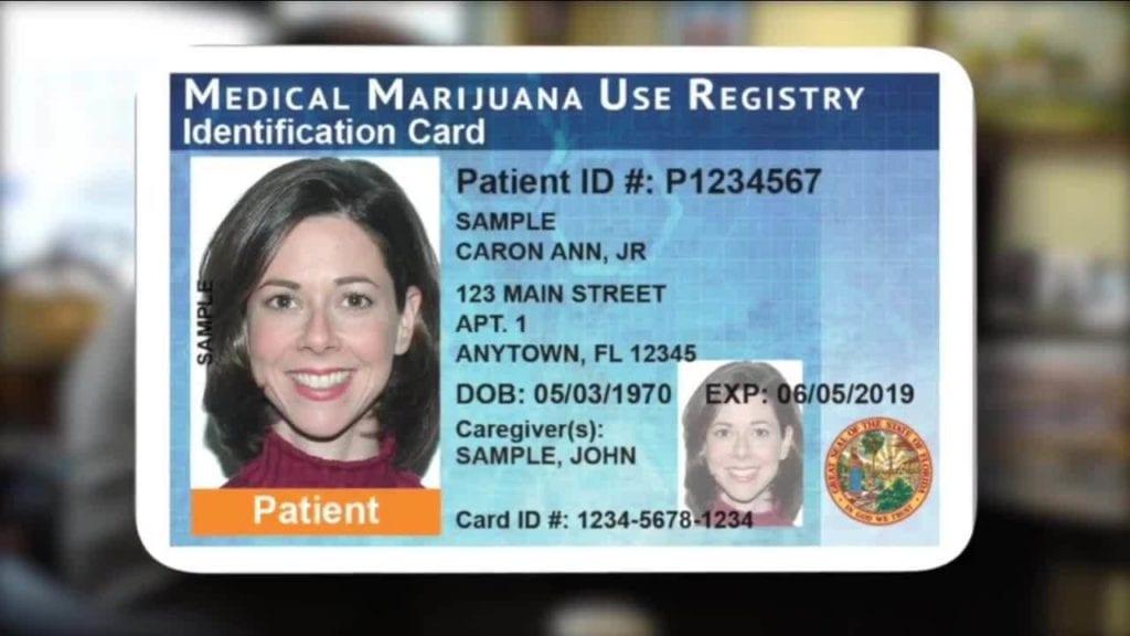 Fl Medical Marijuana ID Card