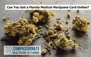 Can You Get a Florida Medical Marijuana Card Online?