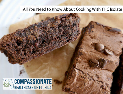 All You Need to Know About Cooking With THC Isolate