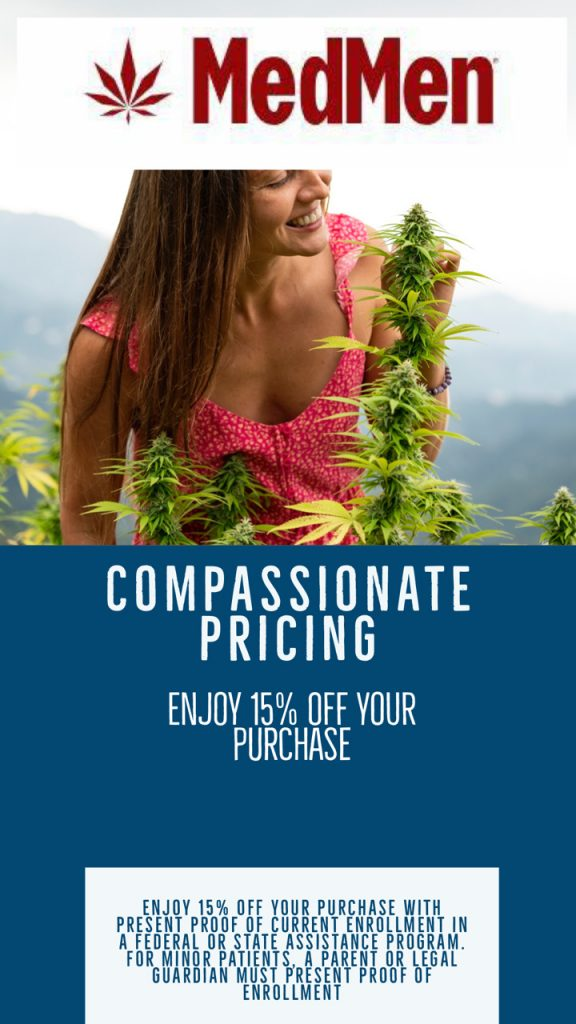 Medmen Compasionate Pricing