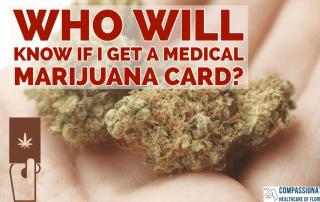 Medical Marijuana Card Privacy